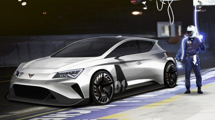 CUPRA e Racer 1 730x409 at Geneva 2018: SEAT to Go Electric Racing with CUPRA e Racer
