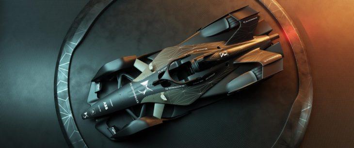 DS E Tense FE 19 01 730x305 at DS E TENSE FE 19 Formula E   Batmans Track Car?