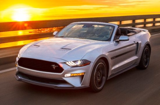 Ford Mustang GT California Special 1 550x360 at Ford Mustang GT California Special Makes a Return for 2019