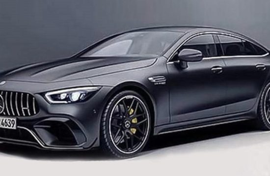 Four door Mercedes AMG GT Coupe leaked 1 550x360 at Four Door Mercedes AMG GT Coupe Leaked Ahead of Geneva Debut