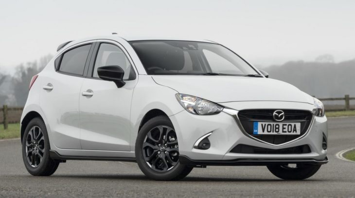 Mazda2 Sport Black 1 730x407 at 2018 Mazda2 Sport Black Special Edition for UK
