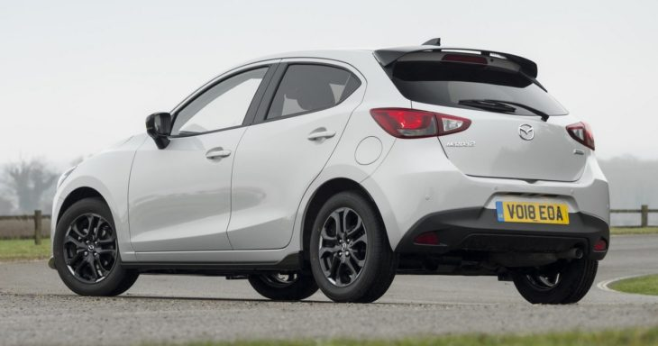 Mazda2 Sport Black 6 730x384 at 2018 Mazda2 Sport Black Special Edition for UK