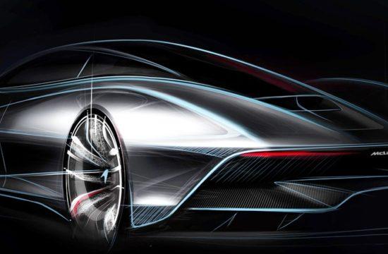 McLaren BP23 March 2018 rear sketch 550x360 at McLaren BP23 Hyper GT To Do 243 mph   Faster Than the F1