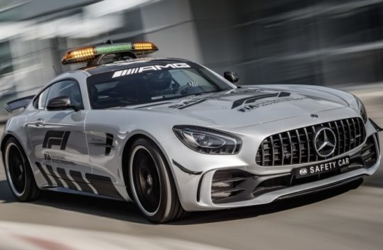 Mercedes AMG GT R 1 550x360 at Mercedes AMG GT R 2018 Formula 1 Safety Car Revealed