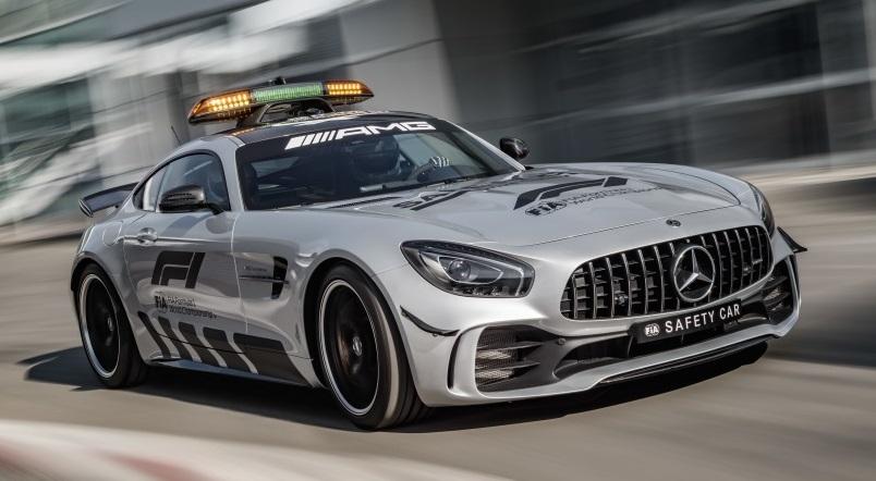 mercedes amg gt r 2018 formula 1 safety car revealed. Black Bedroom Furniture Sets. Home Design Ideas