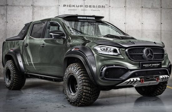 Mercedes X Class Exy 1 550x360 at Mercedes X Class Exy by Carlex Design   Offroad & Urban