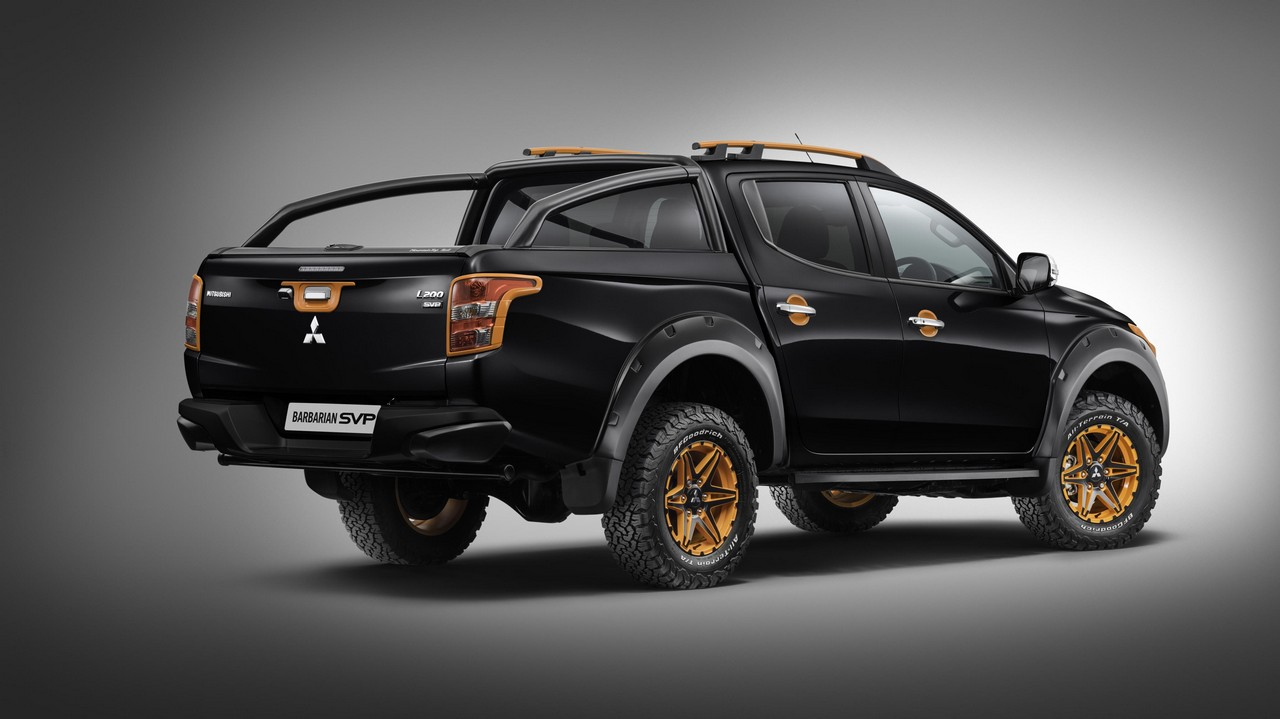 Uk Only Mitsubishi L200 Barbarian Svp Ii