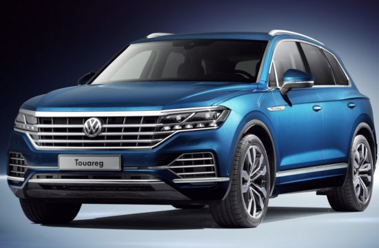 New 2019 Touareg 1 550x360 at 2019 Volkswagen Touareg Goes Official