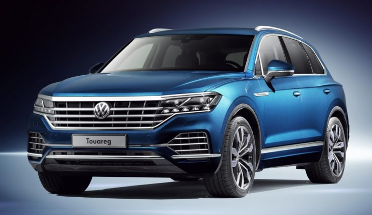 New 2019 Touareg 1 730x423 at 2019 Volkswagen Touareg Goes Official