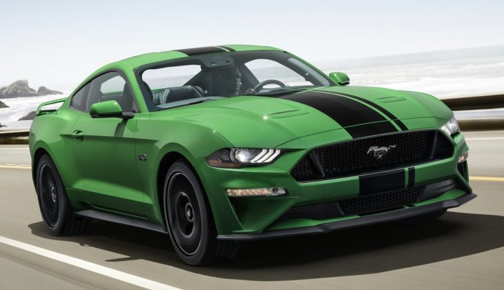 New2019NeedForGreenMustang 01 HR 730x420 at 2019 Mustang Need for Green Announced on Saint Patricks Day