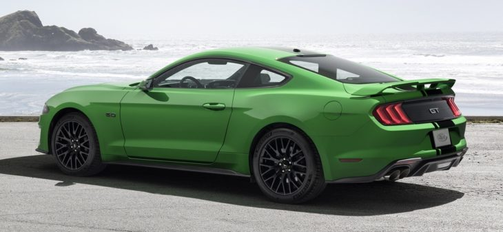 New2019NeedForGreenMustang 02 HR 730x337 at 2019 Mustang Need for Green Announced on Saint Patricks Day