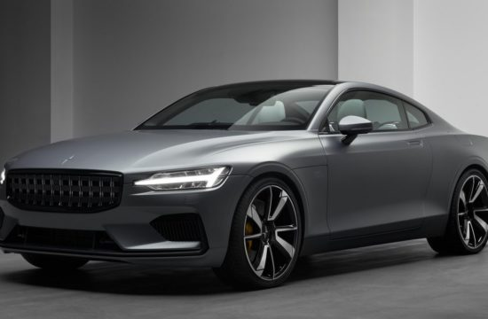 Polestar 1 event Geneva 18 001 550x360 at 2019 Polestar 1 Makes Geneva Debut in Matte Grey