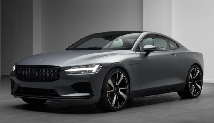 Polestar 1 event Geneva 18 001 730x419 at 2019 Polestar 1 Makes Geneva Debut in Matte Grey