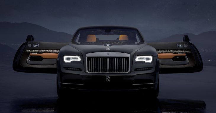 Rolls Royce Wraith Luminary Collection 1 730x384 at Official: Rolls Royce Wraith Luminary Collection