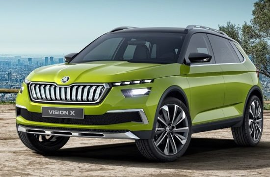Skoda Vision X 0 550x360 at Geneva 2018: Skoda Vision X Is a Sign of Things to Come