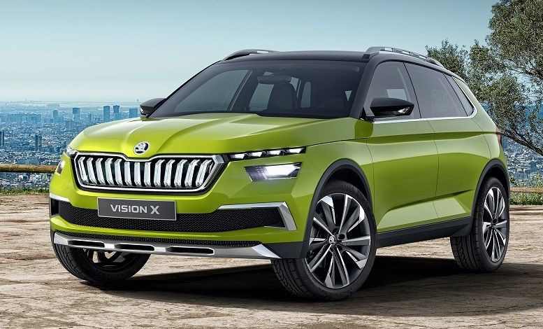 geneva 2018 skoda vision x is a sign of things to come. Black Bedroom Furniture Sets. Home Design Ideas