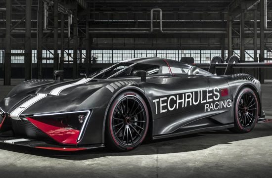 Techrules REN RS 1 550x360 at Techrules REN RS Electric Racer Unveiled, Has 1,305 PS