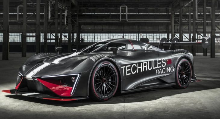 Techrules REN RS 1 730x395 at Techrules REN RS Electric Racer Unveiled, Has 1,305 PS