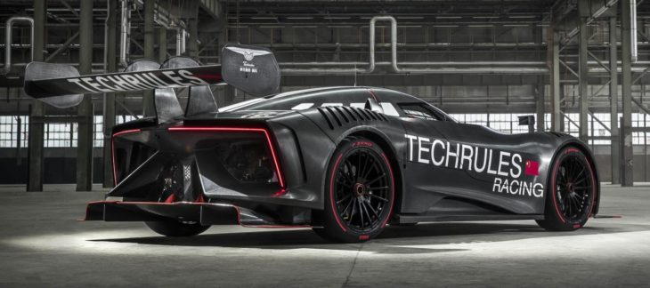 Techrules REN RS 2 730x324 at Techrules REN RS Electric Racer Unveiled, Has 1,305 PS