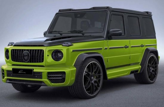 mercedes amg g63 lumma 1 550x360 at Geneva Preview: Lumma Mercedes AMG G63 CLR G770