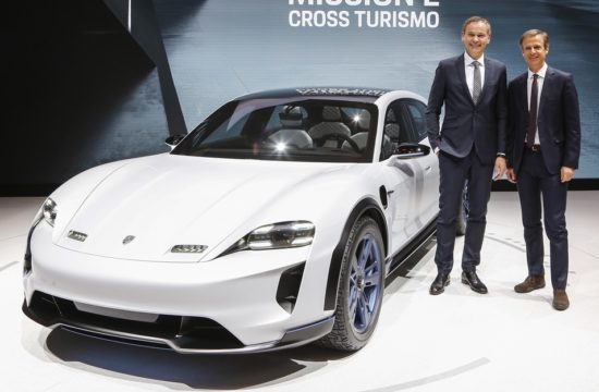 mission e cross turismo 550x360 at Porsche Mission E Cross Turismo Is the Weirdest Thing in Geneva Right Now!