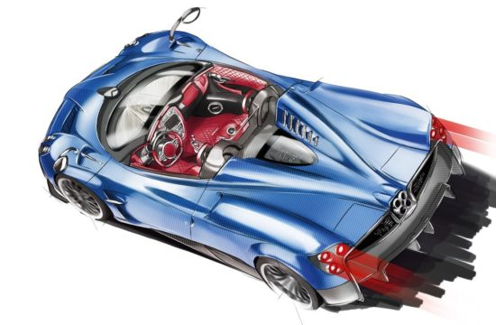 pagani future ev 550x360 at Pagani Working on Electric Hypercar, Manual Huayra