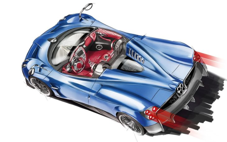 pagani future ev 730x458 at Pagani Working on Electric Hypercar, Manual Huayra