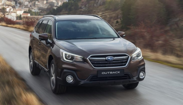 2018 Subaru Outback 1 730x419 at 2018 Subaru Outback Priced from £29,995 in the UK