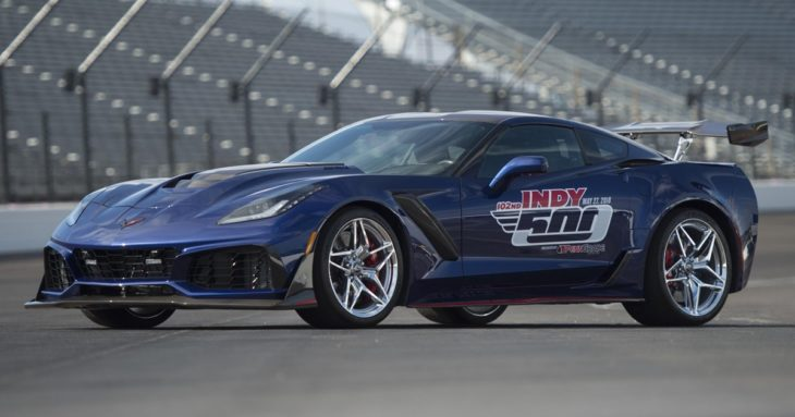 2019 Chevrolet Corvette ZR1 Indianapolis500 PaceCar 01 730x383 at 2019 Corvette ZR1 Indianapolis 500 Pace Car Unveiled