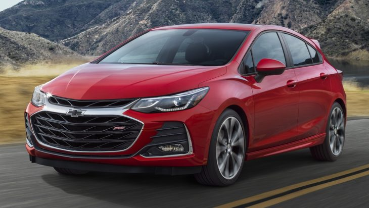 2019 Chevrolet CruzeHatch 001 730x412 at 2019 Chevrolet Cruze Facelift Sedan and Hatch Unveiled