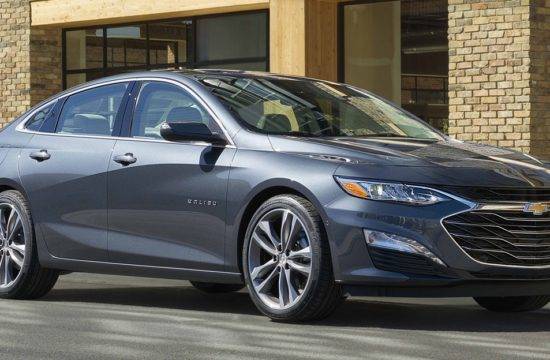 2019 Chevrolet Malibu 005 550x360 at 2019 Chevrolet Malibu Adds Sporty RS Trim