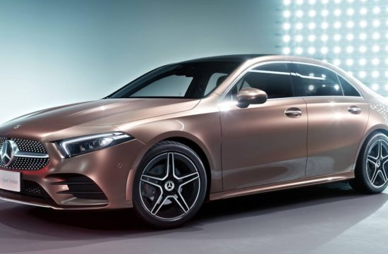 2019 Mercedes A Class L Sedan 1 550x360 at 2019 Mercedes A Class L Sedan Is for China Only