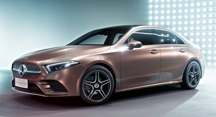 2019 Mercedes A Class L Sedan 1 730x397 at 2019 Mercedes A Class L Sedan Is for China Only