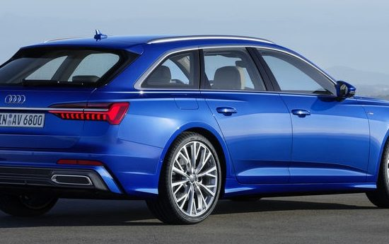 2019 audi a6 avant 2 550x345 at 2019 Audi A6 Avant   A Most Accomplished Estate