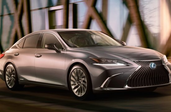 2019 Lexus ES Teaser 550x360 at 2019 Lexus ES Previewed, Looks Like a Mini LS
