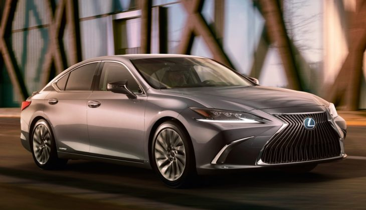 2019 Lexus ES Teaser 730x420 at 2019 Lexus ES Previewed, Looks Like a Mini LS