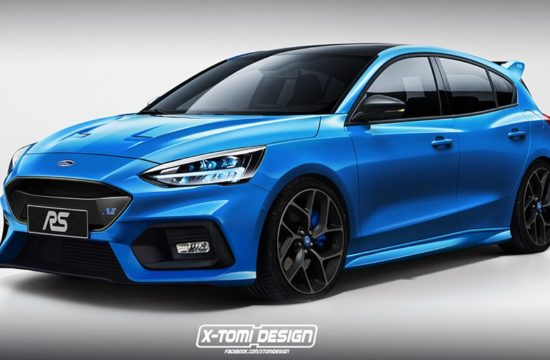 2020 Ford Focus RS render 550x360 at 2020 Ford Focus RS Speculatively Rendered