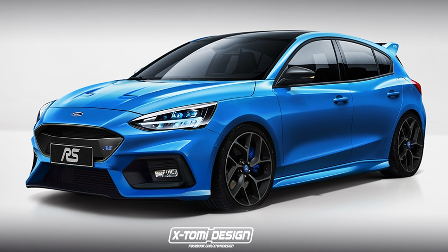 2020 ford focus rs speculatively rendered. Black Bedroom Furniture Sets. Home Design Ideas