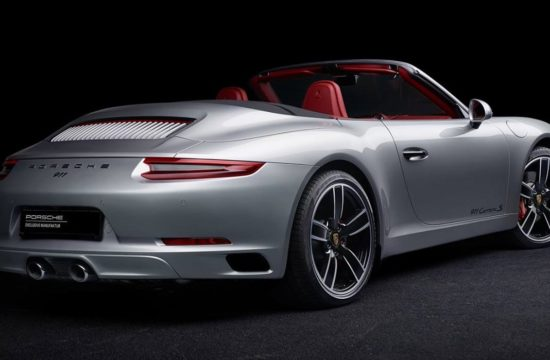911 Carrera S Cabriolet in GT Silver Metallic 1 550x360 at Exclusive: Porsche 911 Carrera S Cabrio in GT Silver