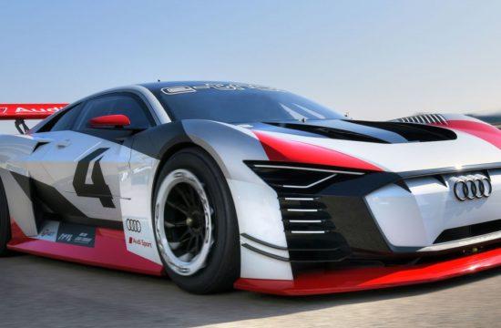 Audi e tron Vision Gran Turismo 1 550x360 at Audi e tron Vision Gran Turismo Unveiled with 815 hp