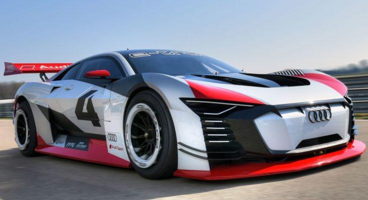 Audi e tron Vision Gran Turismo 1 730x398 at Audi e tron Vision Gran Turismo Unveiled with 815 hp