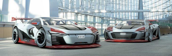 Audi e tron Vision Gran Turismo 8 730x238 at Audi e tron Vision Gran Turismo Unveiled with 815 hp