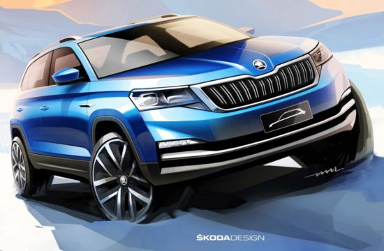 Chinese Skoda SUV 1 550x360 at China Only Skoda SUV Looks Good in Official Renderings