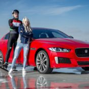 Jaguar XE 300 SPORT 2 175x175 at Jaguar XE 300 SPORT Beats Olympic Gold Medalist in Ice Race