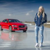 Jaguar XE 300 SPORT 3 175x175 at Jaguar XE 300 SPORT Beats Olympic Gold Medalist in Ice Race