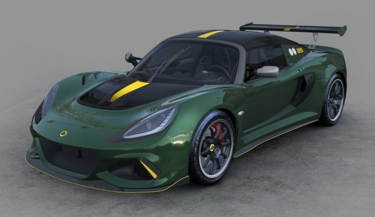 Lotus Exige Cup 430 Type 25 05 April 2018 1 730x423 at Official: Lotus Exige Cup 430 Type 25 Limited Edition