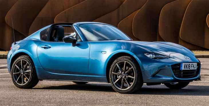 Mazda MX 5 RF Sport Black 1 730x372 at Mazda MX 5 RF Sport Black Limited Edition Announced for UK
