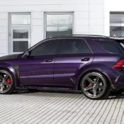 Mercedes AMG GLE 63s INFERNO Violet 7 175x175 at Carbon Fest: TopCar Mercedes AMG GLE 63S Inferno Violet