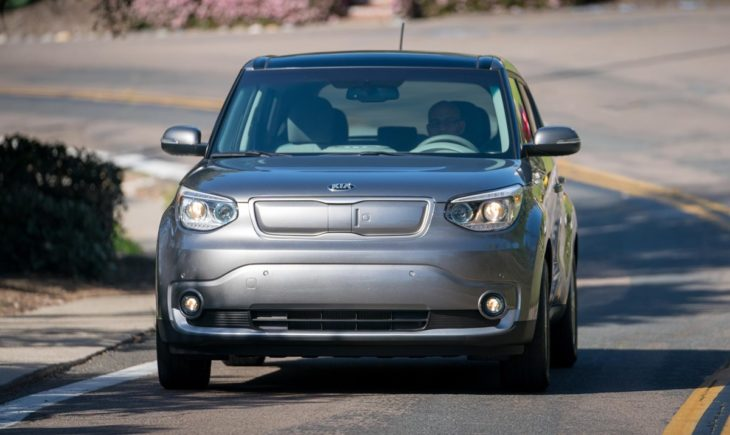 Soul EV  730x435 at Kia Soul EV Tests Wireless Charging Capability