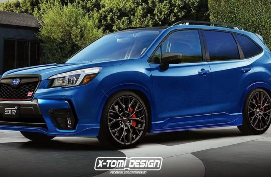 Subaru Forester STI 550x360 at 2020 Subaru Forester STI Might Be on the Cards